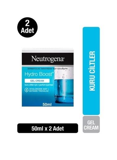 Neutrogena Hydro Boost Gel Cream Nemlendirici Kuru Ciltler 50Mlx2 Renksiz
